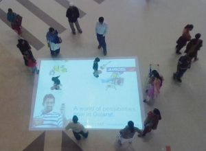 Z12_Interactive-floor-projection-campaign-for-Aircel-launch-in-Gujarat