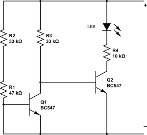 simple battery charge controller circuit using lm324