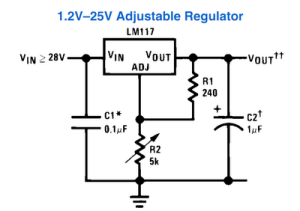IC 317 Power Supply, Simplest (1)