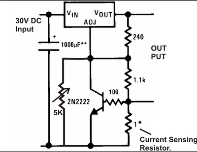How To Build A Simplest Variable Power Supply Circuit Using Lm317